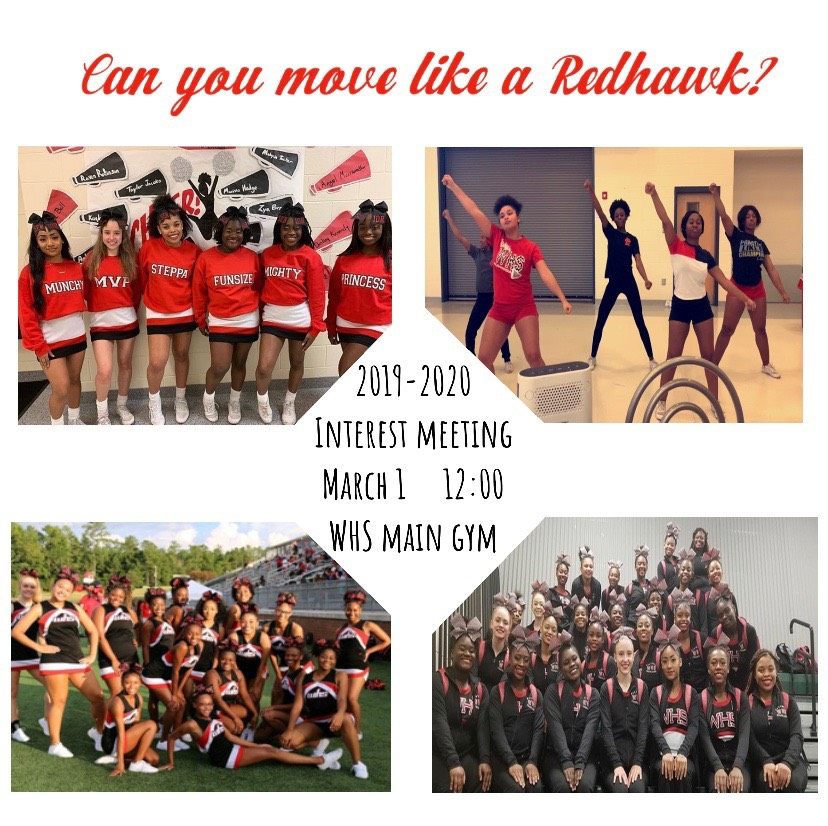 Calling All Students Interested in Cheerleading 2019-20