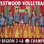 Volleyball Teams Wins Region 3-AAAA Championship