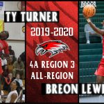 Lewis and Turner Earn All-Region 3-AAAA Basketball Honors
