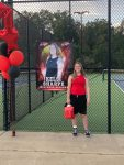 Girls Tennis Senior Night October 8, 2020