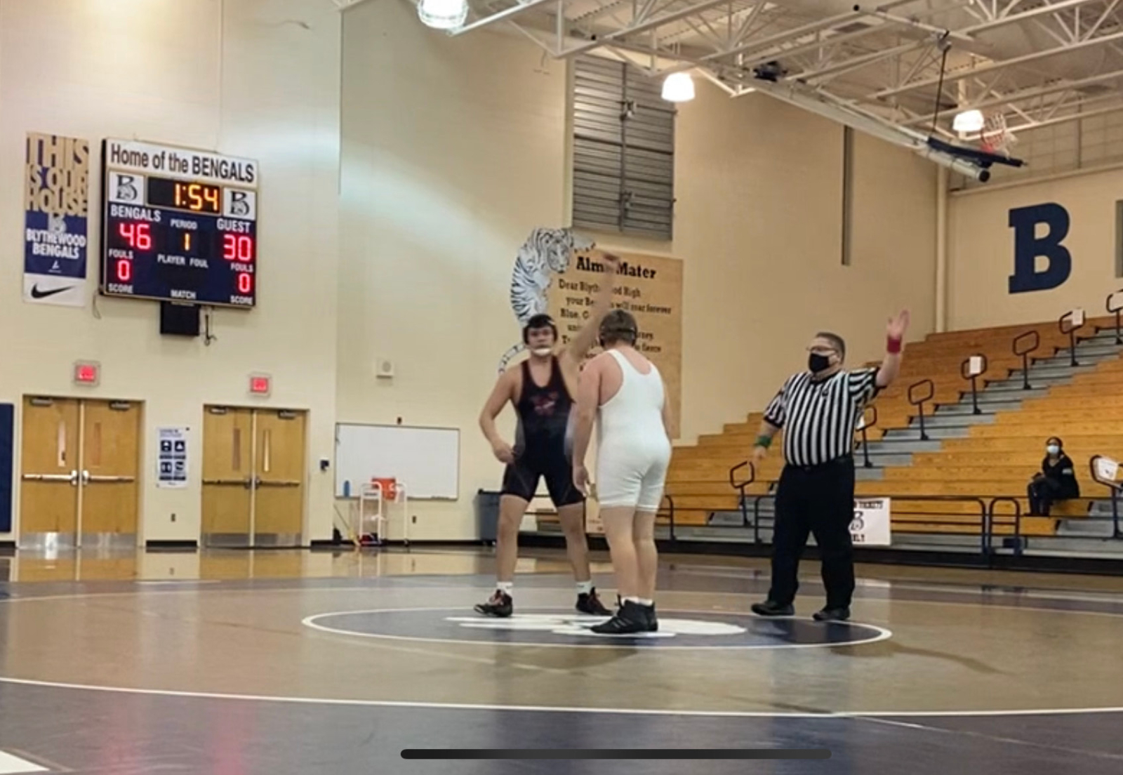Harkness Sets New School Record For Fastest Pin