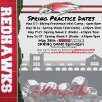 Tentative Spring Football Practice Dates