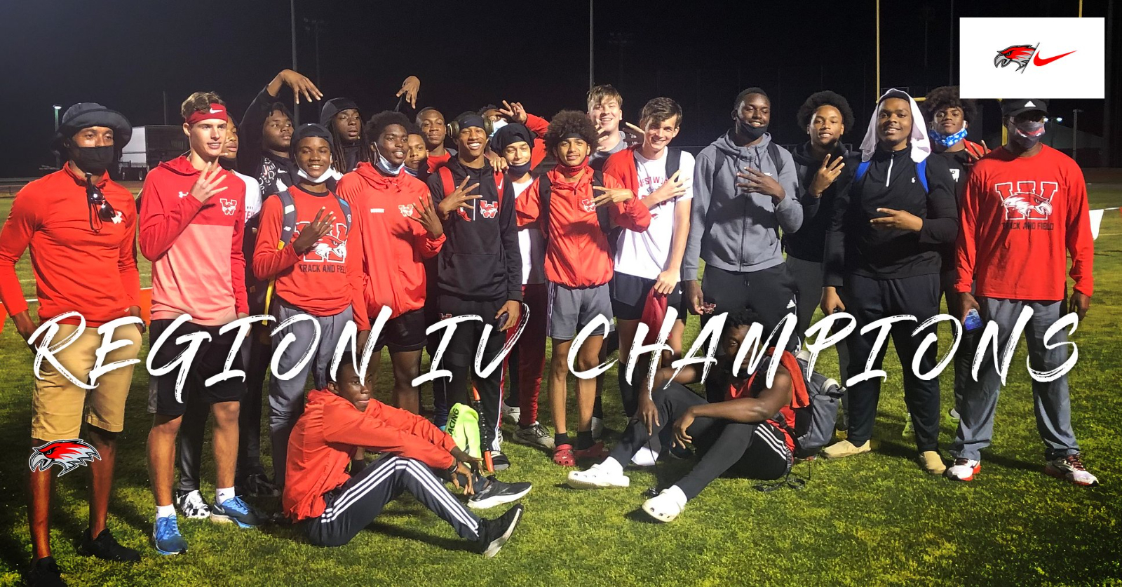 Redhawk Boys Track Makes It Four In A Row