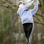 3/8/21 Girls Varsity Golf at Grace Academy