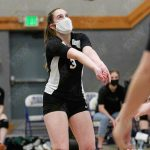 4/19/21 Girls Varsity Volleyball versus Grace Academy