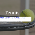 FIRST HOME MATCH FOR BOYS TENNIS