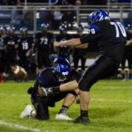Rogers football pulls away from Chisago Lakes in 2nd half