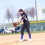 Bruns hits grand slam, throws no-hitter in softball!