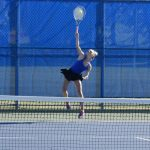 Rogers tennis opens conference play by splitting pair of matches