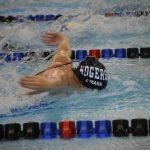 Rogers swim team wins first home meet in school history!