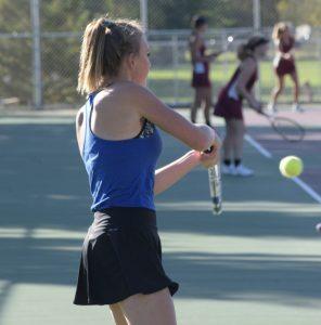 PHOTO: Girls Tennis vs. Anoka (Team Sections) 10-05-2016