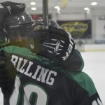 Rogers alum Vinny Billing is still enjoying hockey after high school!
