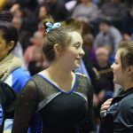 Hagel leads the way for gymnastics team!