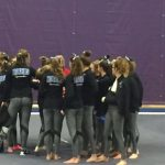 Gymnastics team defeats Buffalo!