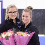 Hall, Wallmow honored on Senior night!