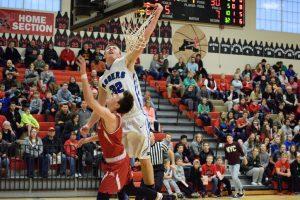 PHOTOS: Boys basketball vs. Monticello (02-28-2017)