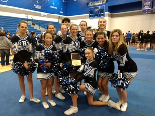 RHS Competes at Cheer-Off
