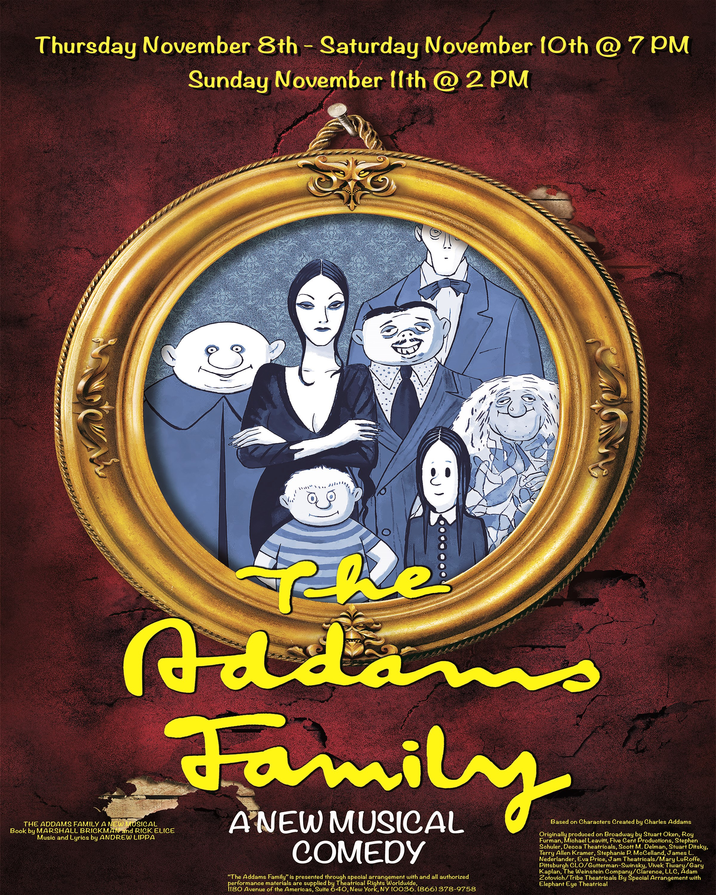 The Addams Family Musical!