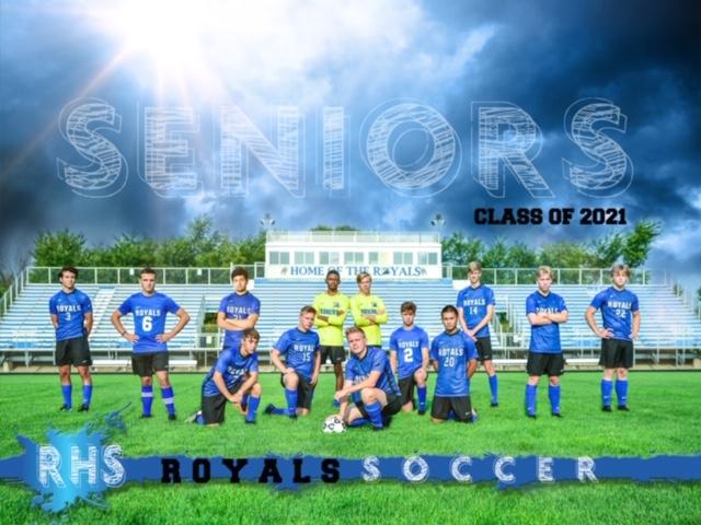 Boys Soccer – celebrating our 13 seniors