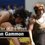 Wrestler of the Week Logan Gammon