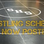 Wrestling Schedule is Posted