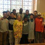 FMS Boys Basketball Giving Back
