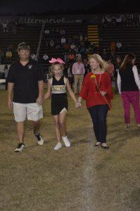 SMS Cheerleader Parents Night
