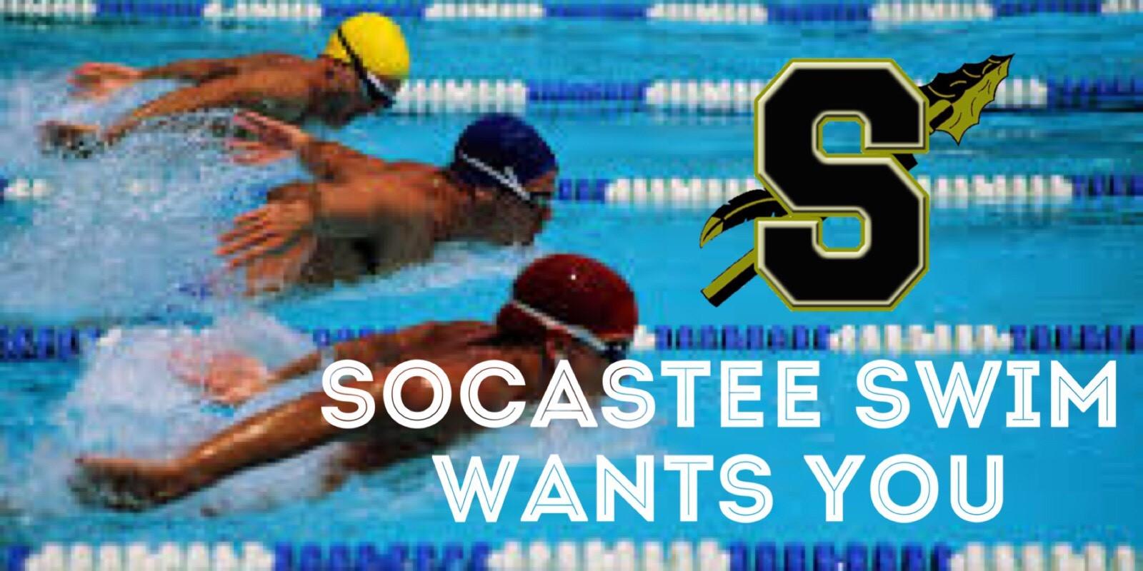 Socastee Swim Information