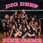 Annual Dig Deep Pink Game Saturday 12:00