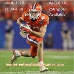 Hunter Renfrow Football Camps