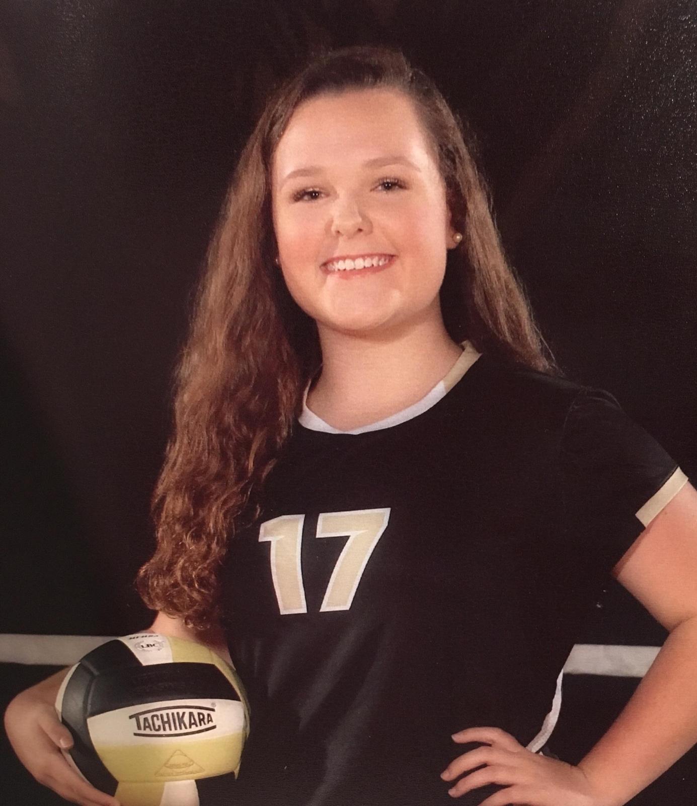 Volleyball Academic All American Ellyn Adams