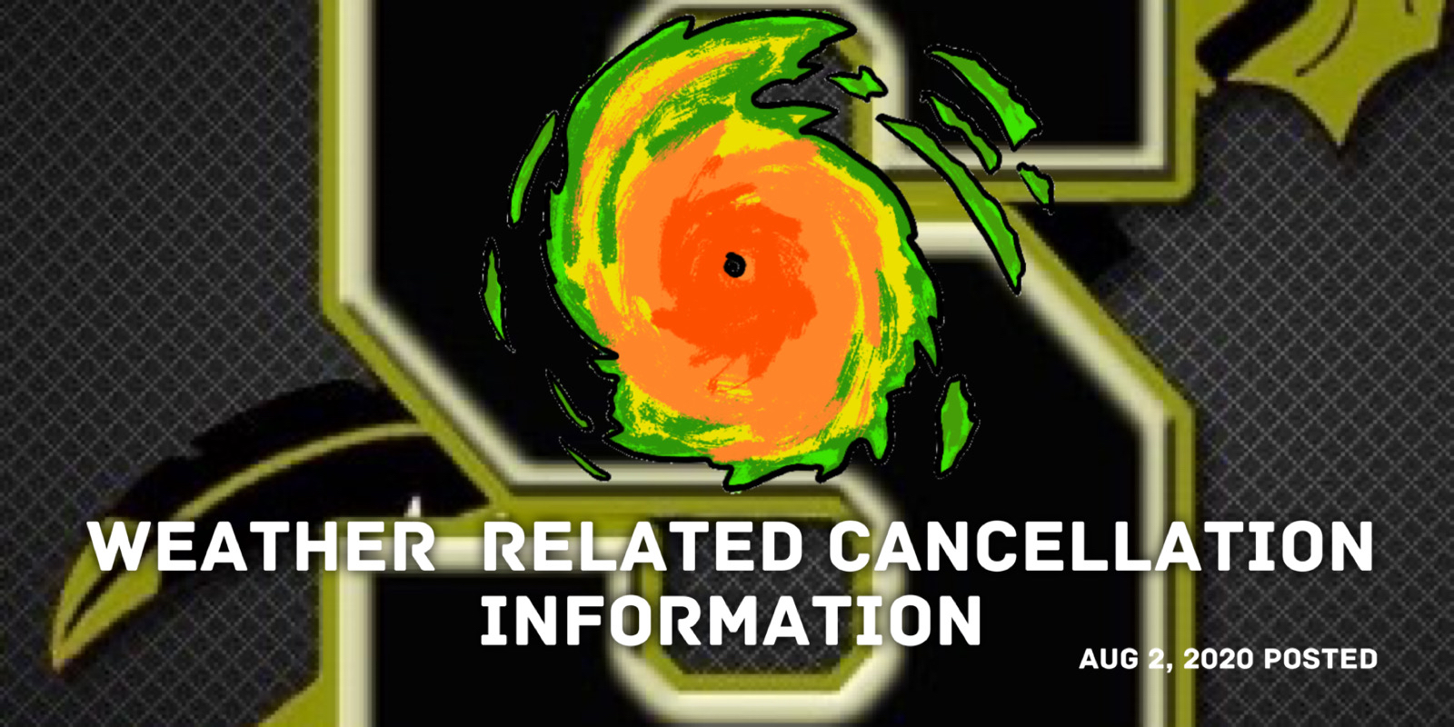 HCS Cancels All School Activities Due To Pending Impact  of Hurricane Isaias.