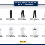 Team Shops:  Boys Tennis, Boys and Girls Soccer