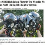 Eagle LB Chandler Johnson Named NEOSI High School Player of the Week