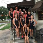 North Olmsted City Schools Girls Varsity Tennis beat Amherst Steele High School 3-2
