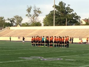Girls Varsity Soccer vs. Lakewood 9-7-16 (tied 1-1)