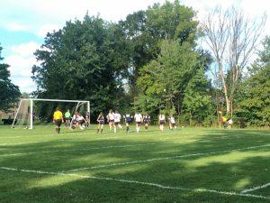 North Olmsted Varsity Girls Soccer vs. North Ridgeville (9/14/16)  Lose 2-1
