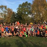 NOHS Football – Kick Ball for Cancer Game at Chestnut Intermediate School