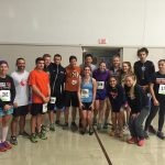 Eagle cross country runners run a half marathon