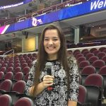Anna Scott Sings the National Anthem at the Q