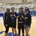 Eagle Basketball players Julie Kemp and Sarah Bukala – All Star Participants