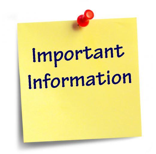 Fall Pre-Season Meeting Information