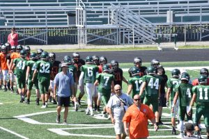 Football Scrimmage VS Strongsville 8-8-17