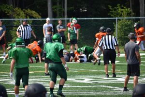 Football Scrimmage VS Holy Name 8-12-17