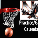 High School Boys Basketball game and practice schedule