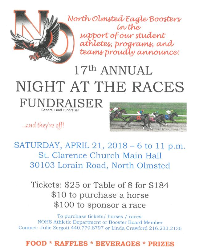 Night at the Races – April 21st