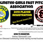 North Olmsted Softball Partners with OGFPA for Summer 2019