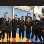 Girls Varsity Gymnastics finishes 2nd place at Magnificat, Medina, St. Joseph Academy, Rocky River, Avon Lake