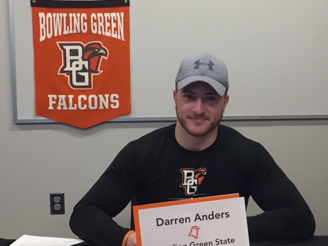 Darren Anders officially signs with BGSU