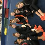 Girls Varsity Gymnastics finish in 3rd place
